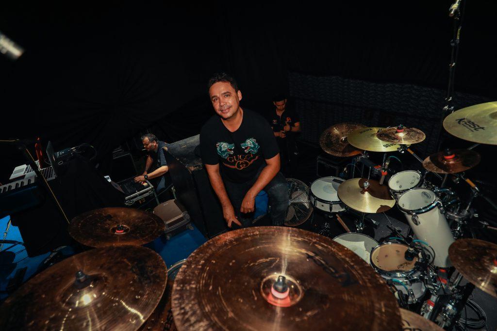 Riquelme, o baterista